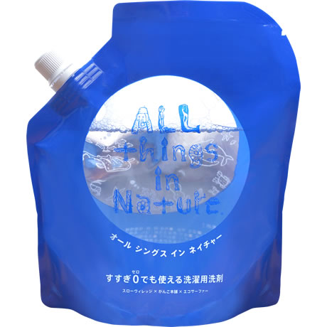 All things in Natureすすぎ0回型(詰替用/450ml)